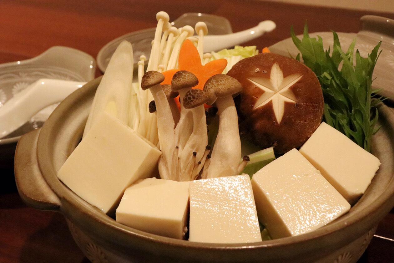 湯豆腐鍋、始めます