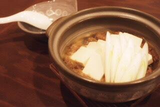 煮込み豆腐鍋