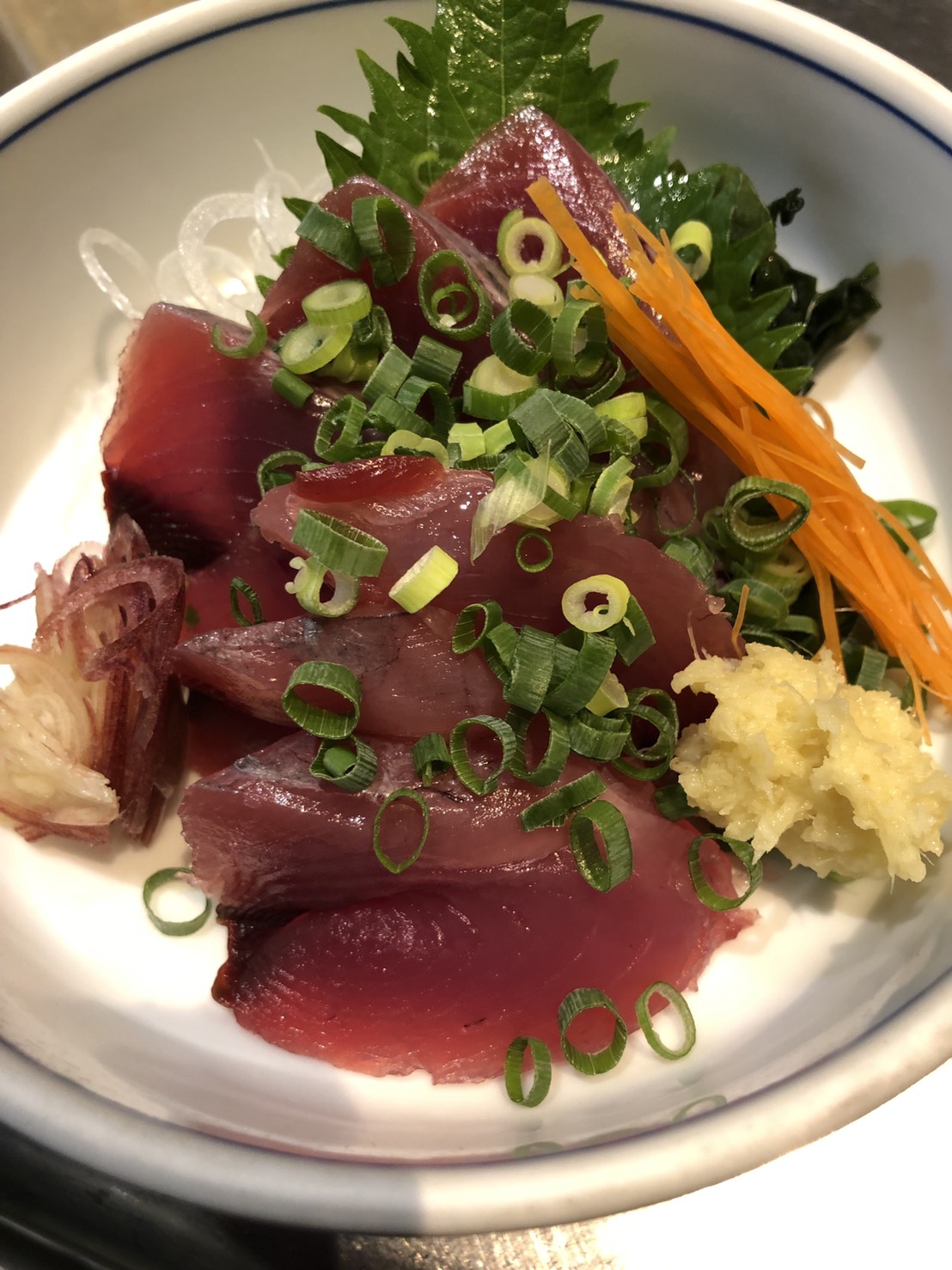 千葉県産、鰹刺身おすすめです!