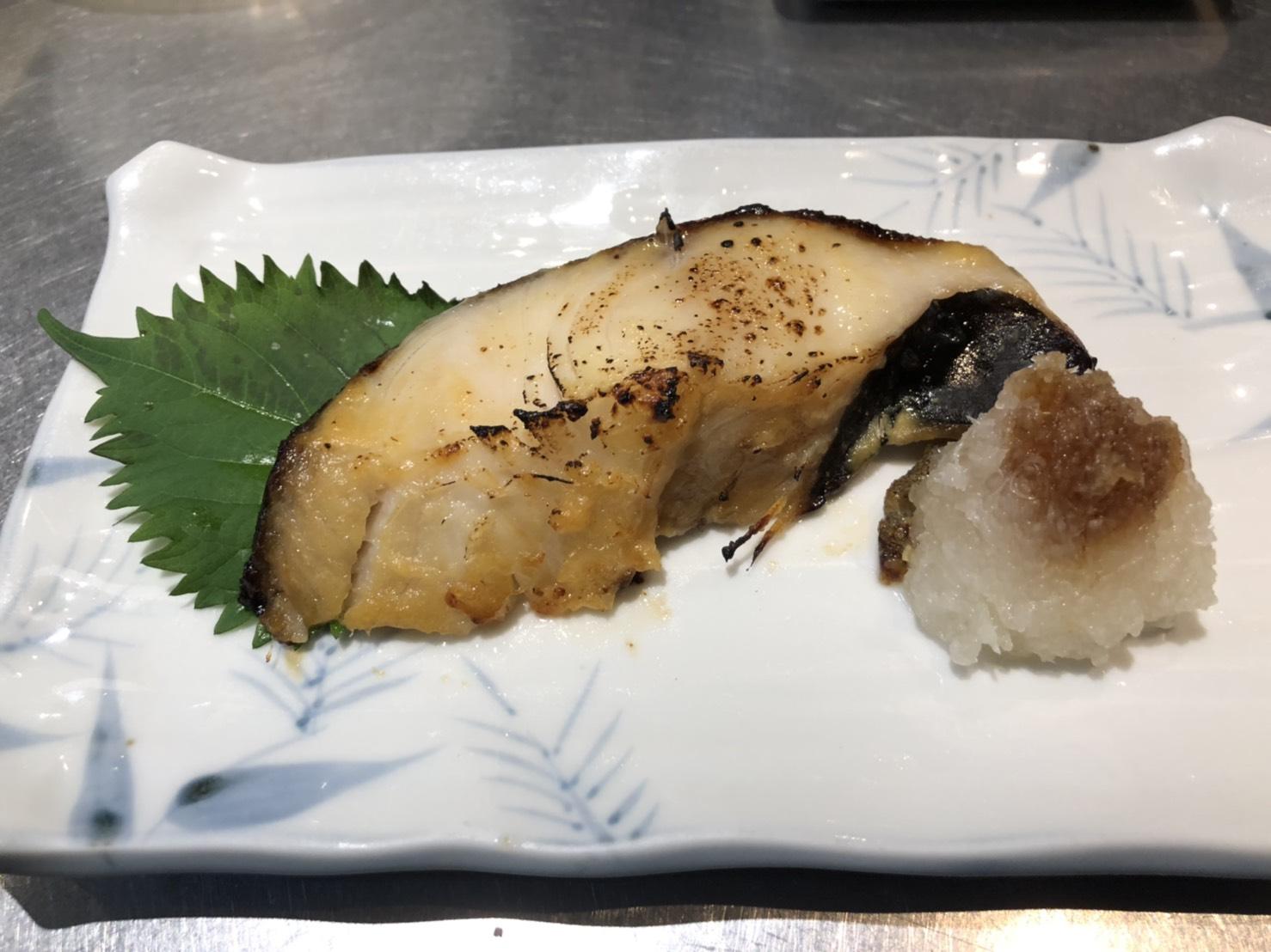 銀ダラ西京焼き